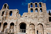 Better view of the frontage of the Theatre of Herod Atticus.