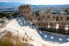 Theatre of Herod Atticus, taken from above.