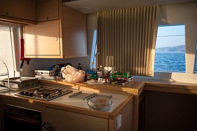 2014.06 Greece, catamaran