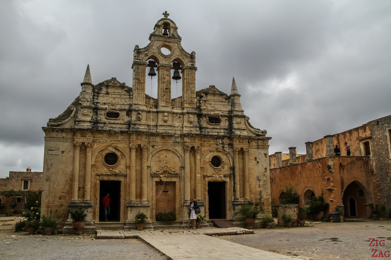 Temple d'Arkadi - église