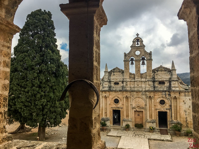 Best things to do in Crete - Arkadi monastery