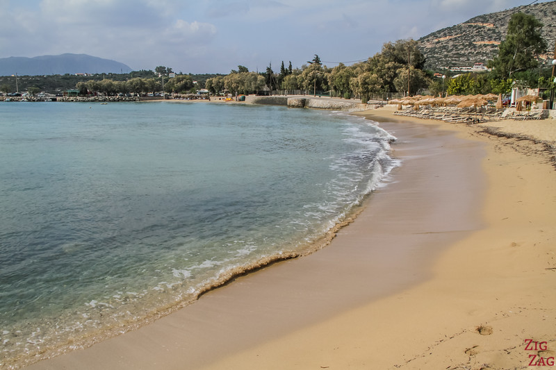 Beaches in Crete near Chania