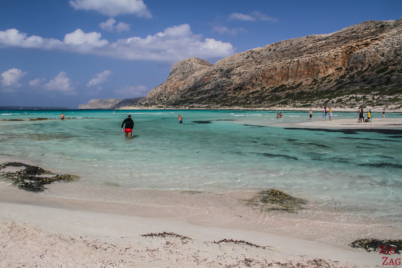 Where to stay in Crete for the best beaches - Balos lagoon