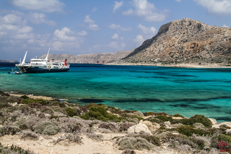 Balos Lagoon - the most beautiful beach in Crete