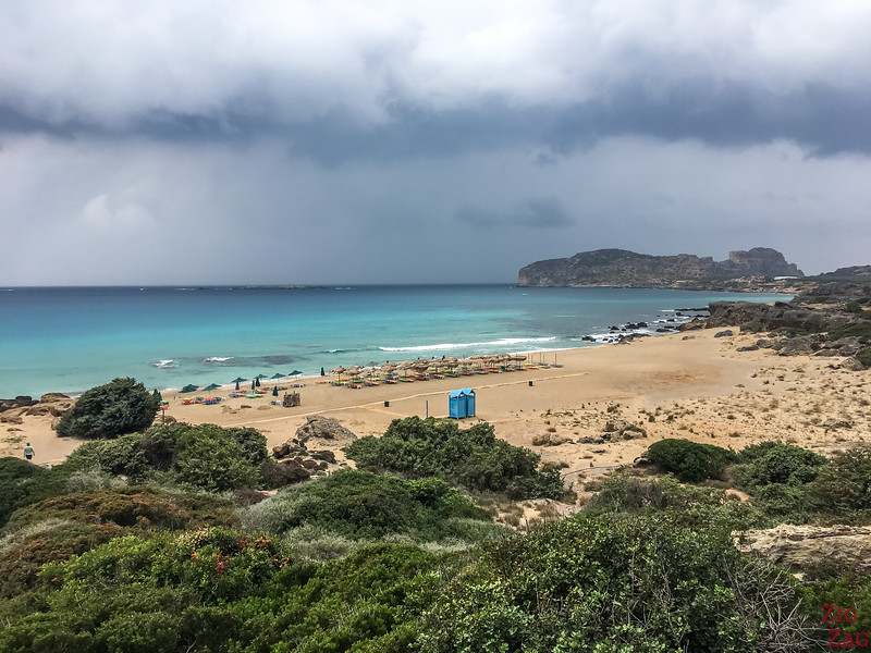 Falassarna beach - best beaches in Crete