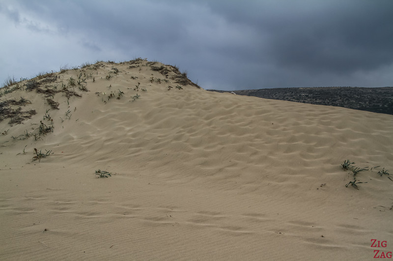 Dunes de sable Falasarna beach 2