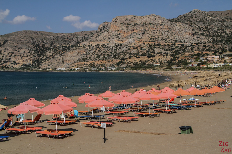 Where to stay in Crete for best beaches - palaiochora accommodations 1