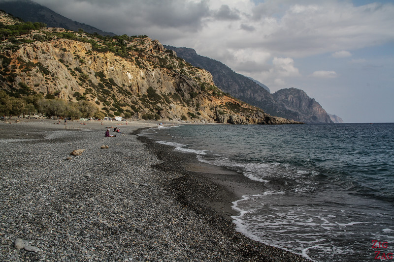 Sougia beach - Most scenic beaches in Crete