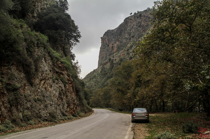 What to see in Crete - Theriso gorge