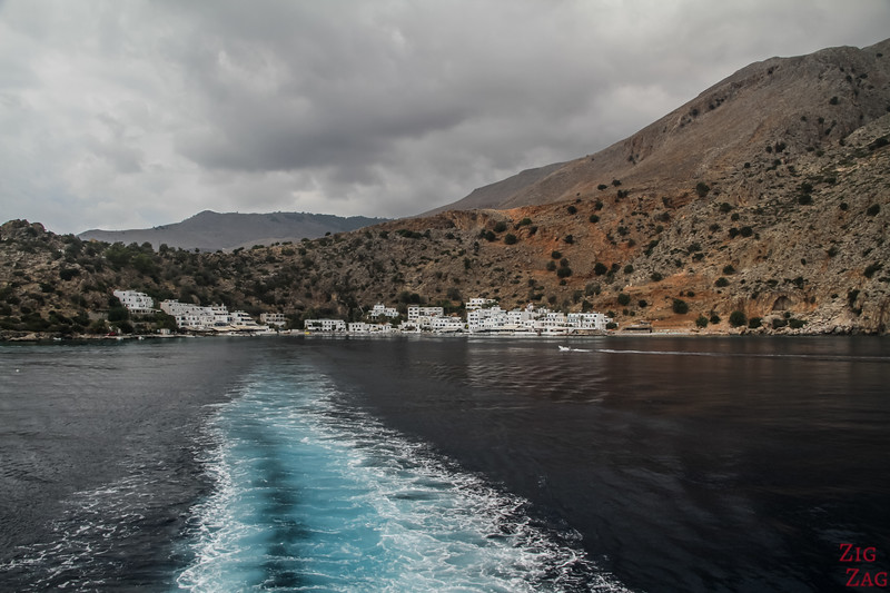 Arriving in Loutro 2