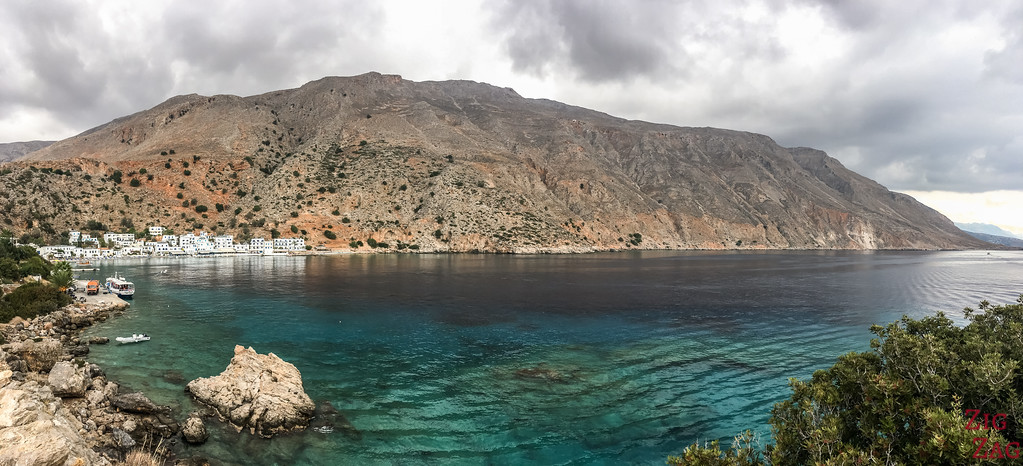 Places to stay in Crete for something different - loutro accommodations