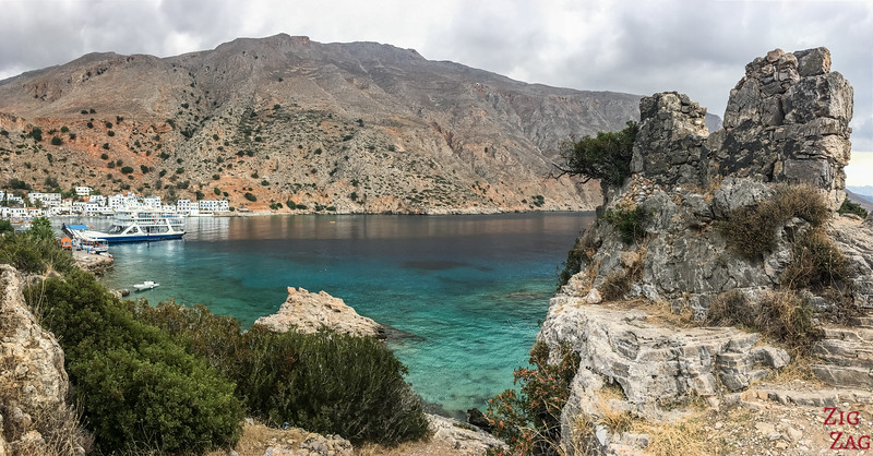 Loutro fortification ruins 3