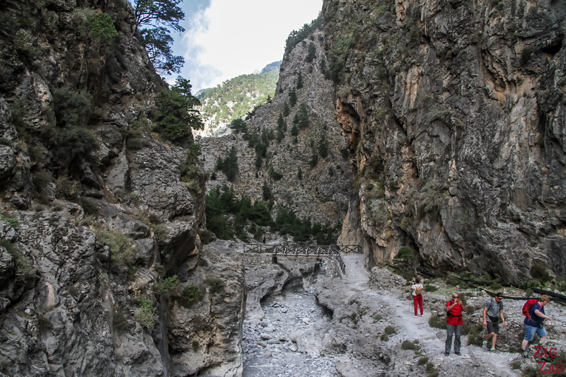 Best things to do in Crete - Samaria Gorge