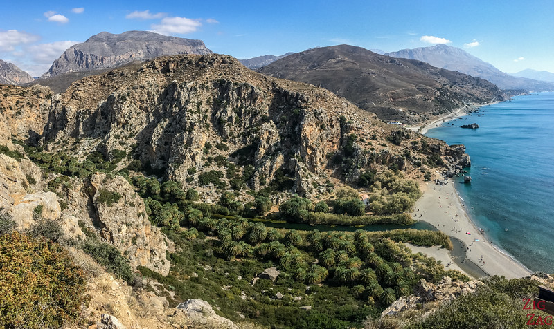 Preveli beach - best beaches in Crete