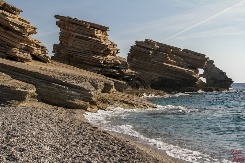 The 3 rocks of Triopetra - Geology 1