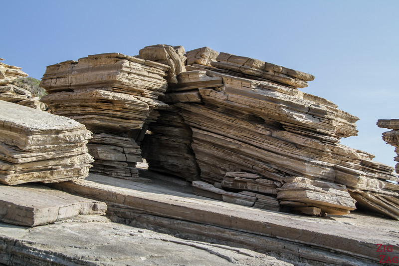 The 3 rocks of Triopetra - Geology 2