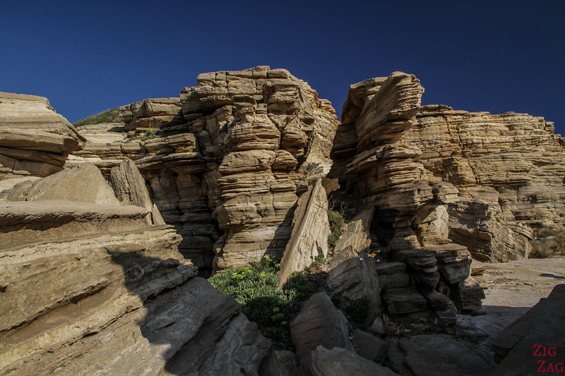 The 3 rocks of Triopetra - Geology 6