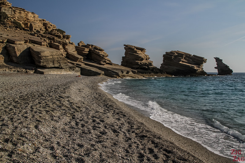 Triopetra beach - Most beautiful beaches in Crete