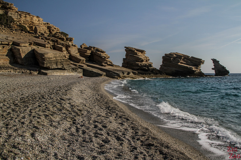 Off the beaten track Crete - Triopetra beach 1