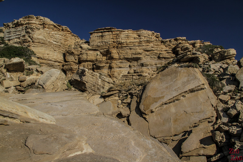 The 3 rocks of Triopetra - Geology 5