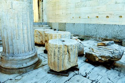 """Temple parts"" for ongoing restoration."