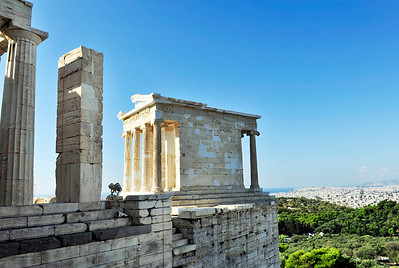 "The Temple of Athena Nike (""Victory"")."