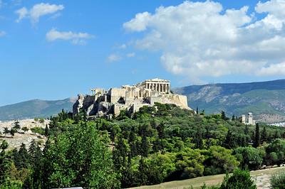 Filopappos Hill - Athens, Greece.