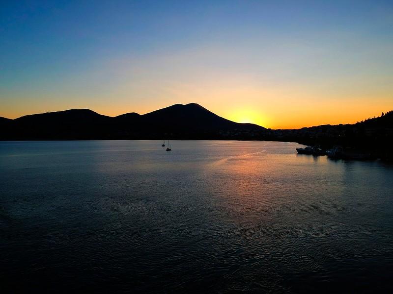 Sunset at Chalkida, Evvoia