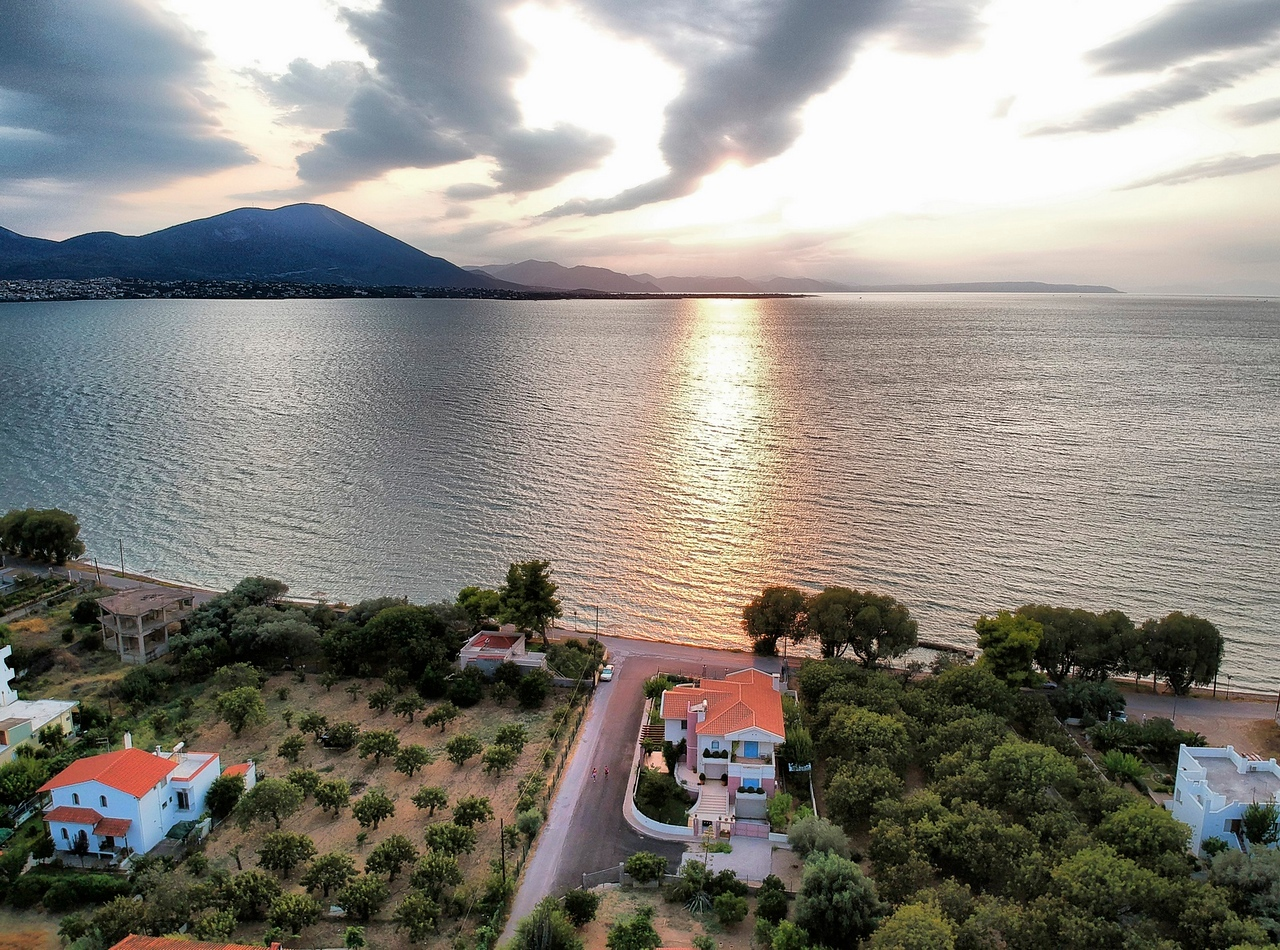 Panayitsa just outside Chalkida, Evia, Greece