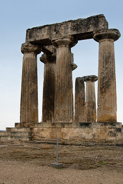 Corinth; Temple of Apollo