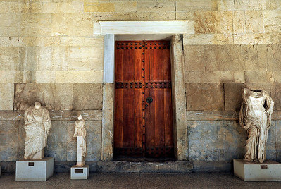 Doorway into the Stoa of Attalos.
