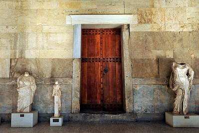 Doorway into the Stoa of Attalos.
