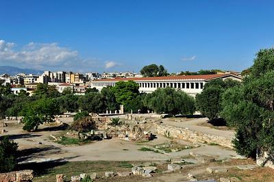 View Stoa of Attalos.