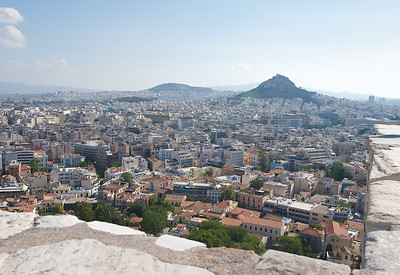 Athens, from the Acropolis