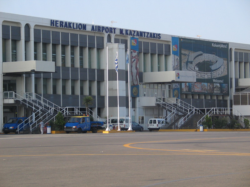 Arrival Heraklion Airport