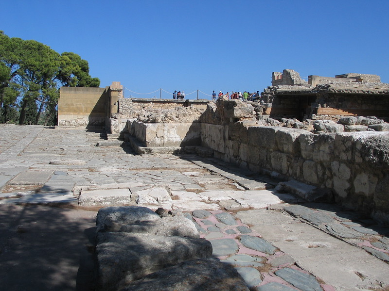 Monday, Back to Heraklion.. This is the Palace of Minos at Knossis.