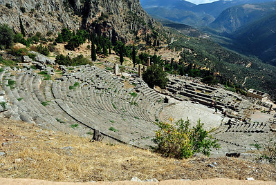 View over the The Delphi Theater.