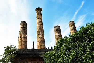 Remaining pillars.