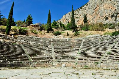 The Delphi Theater.