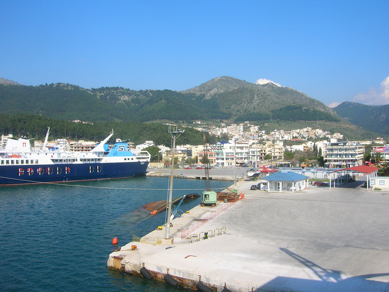 Greece - Ignoumenitsa Harbor April 1