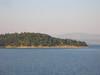 Greece - Corfu Town Island to the north April 1 2008
