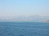 Greece - Ferry to Corfu looking north to Albania and Sagirada April 1 2008