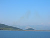 Greece - Ferry to Corfu looking north to Albanian mountains.