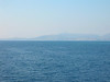 Greece - Ferry to Corfu looking north to Albania April 1 2008