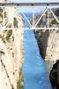 """Korinthos Canal.  More info <a href=""""http://www.sailingissues.com/corinth-canal-diolkos.html""""> here. <a/>"""