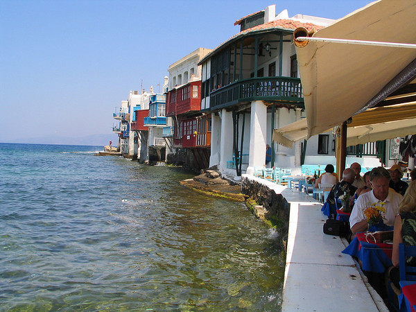 """Little Venice"" of Mykonos"