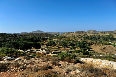 Melanes, Naxos , Cyclades Islands - Greece.