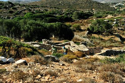 Stone farmers walls...in rocky a landscape.