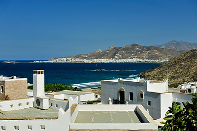 Overlooking St. George Bay from Stelida to Naxos Town.