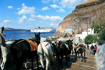 Thira (Santorini), Greece.